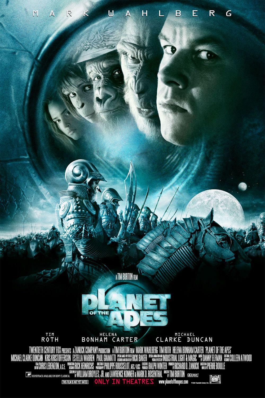 Movie, Planet of the Apes(美國, 2001年) / 決戰猩球(台灣) / 猿人爭霸戰(香港), 電影海報, 美國