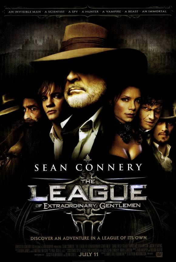 Movie, The League of Extraordinary Gentlemen(美國, 2003年) / 天降奇兵(台灣) / 奇幻兵團LXG(香港) / 超凡绅士联盟(網路), 電影海報, 美國