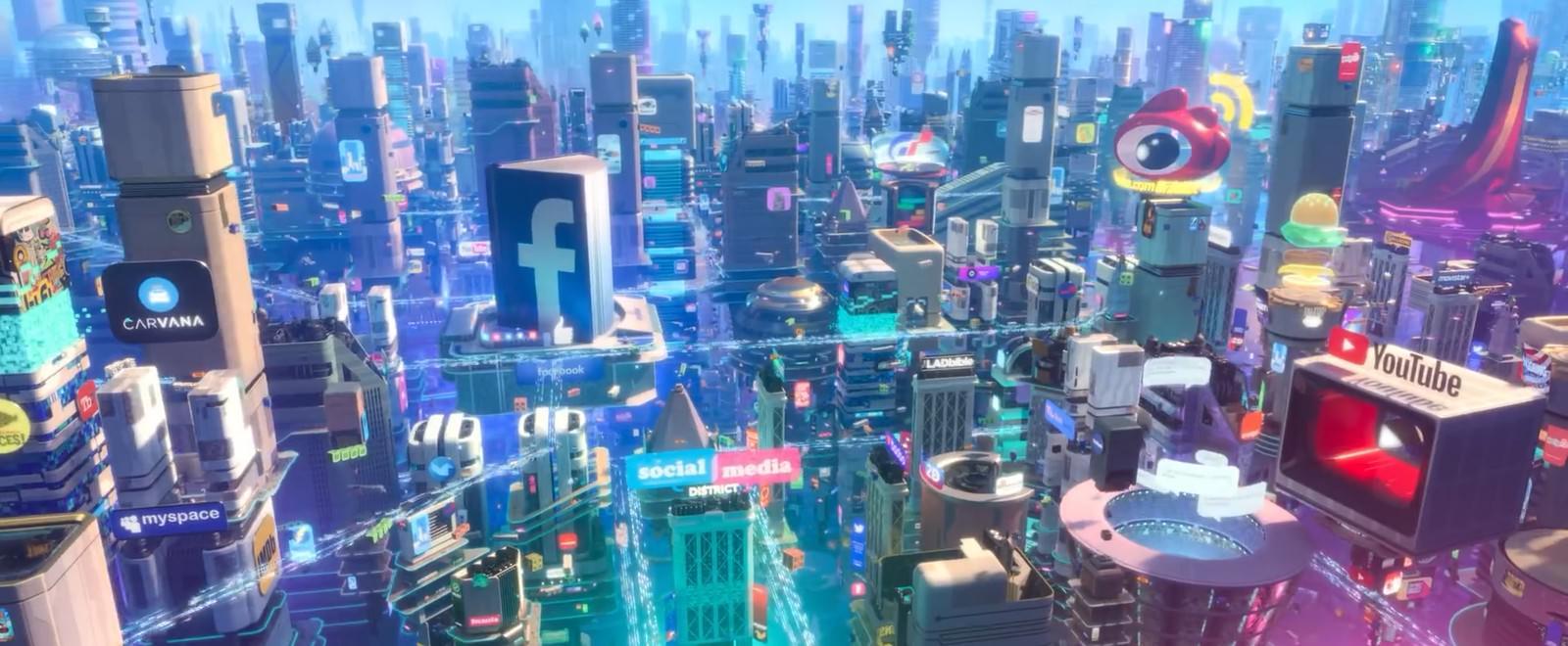 Movie, Ralph Breaks the Internet(美國, 2018) / 無敵破壞王2:網路大暴走(台灣) / 無敵破壞王2:打爆互聯網(香港) / 无敌破坏王2:大闹互联网(網), 電影劇照