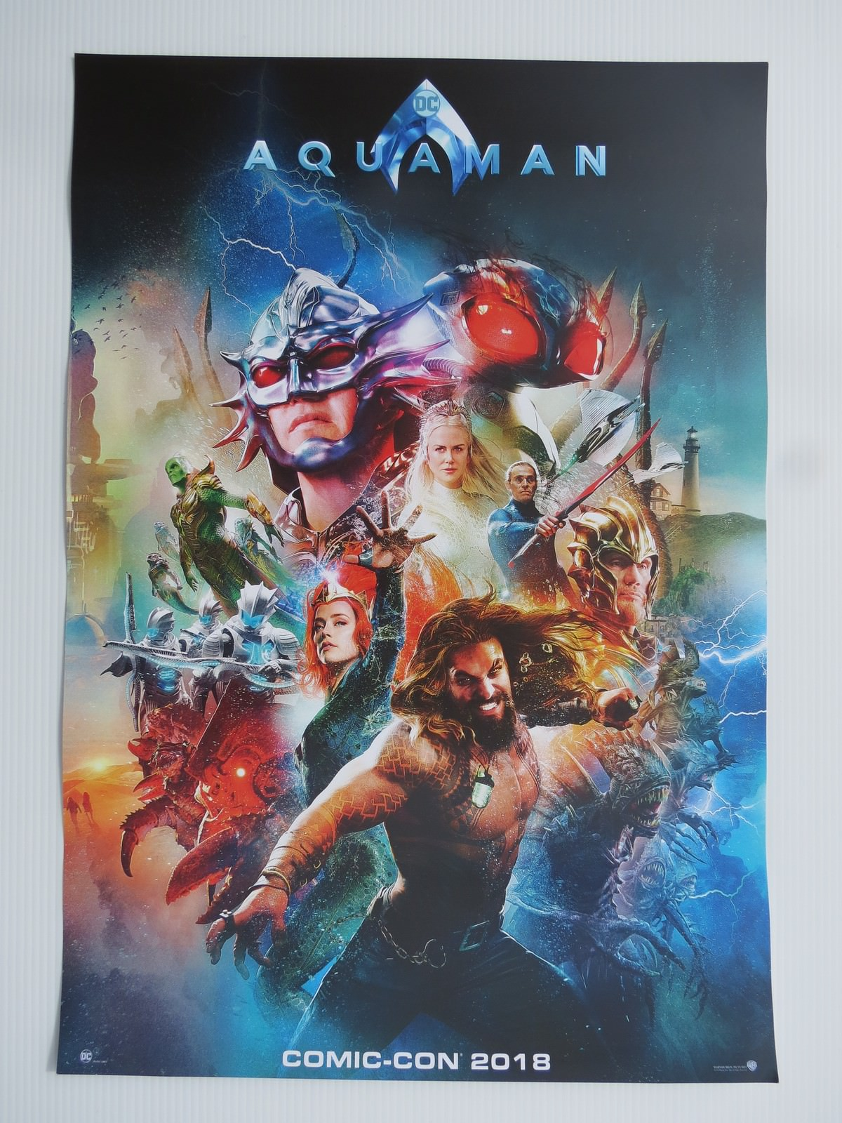 Movie, Aquaman(美國, 2018年) / 水行俠(台灣.香港) / 海王(中國), 原版電影海報