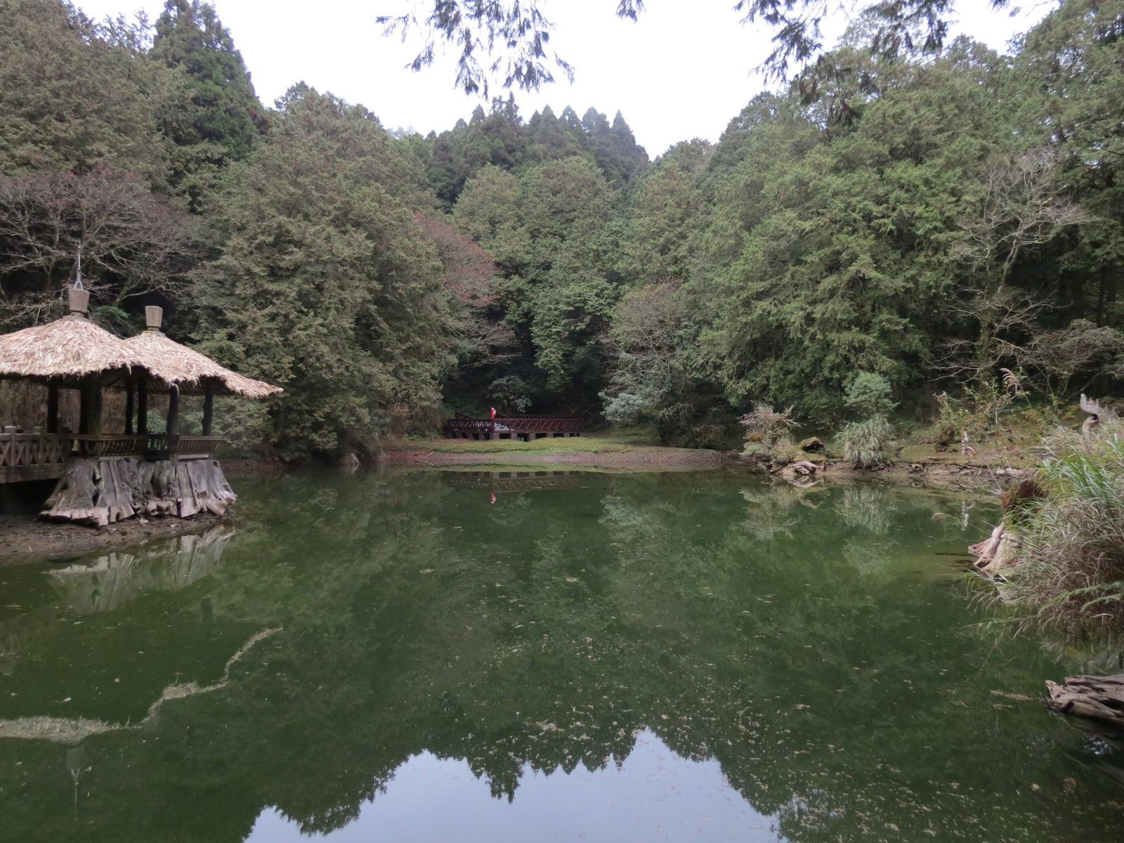 阿里山國家風景區, 姊妹潭