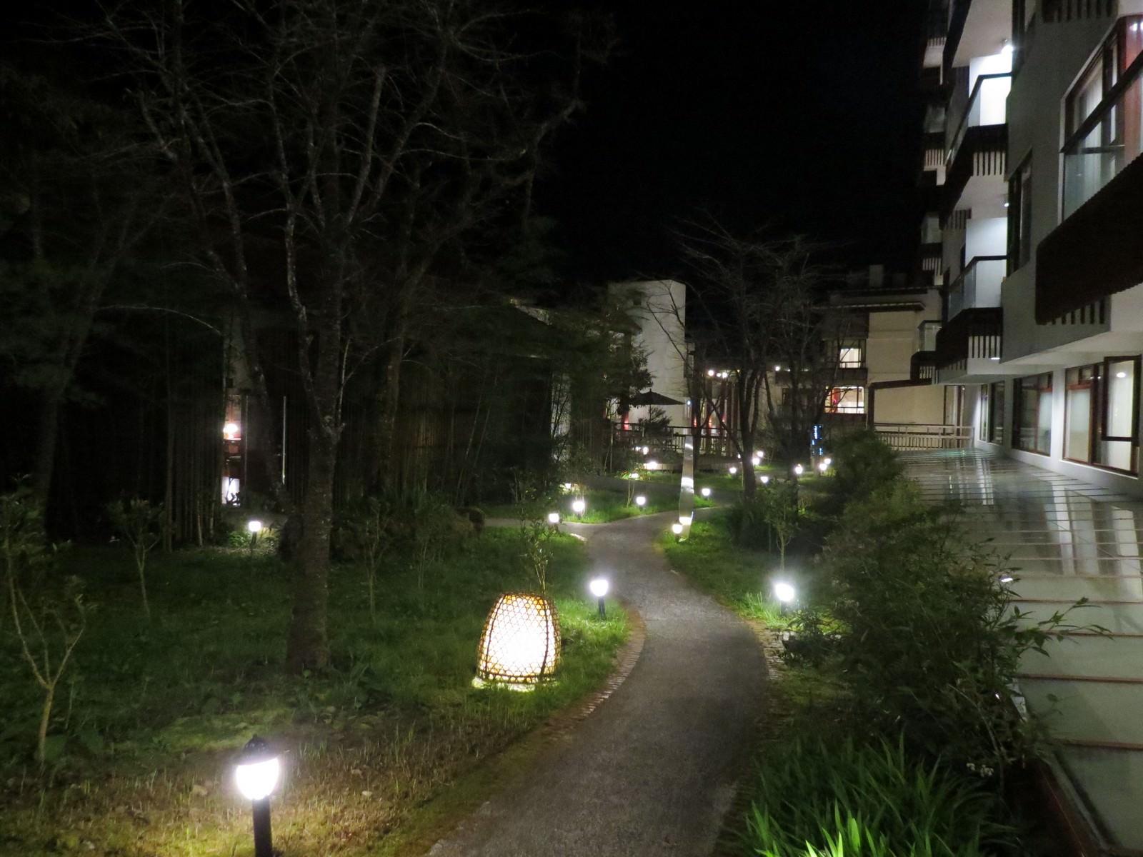 阿里山賓館, 中庭花園