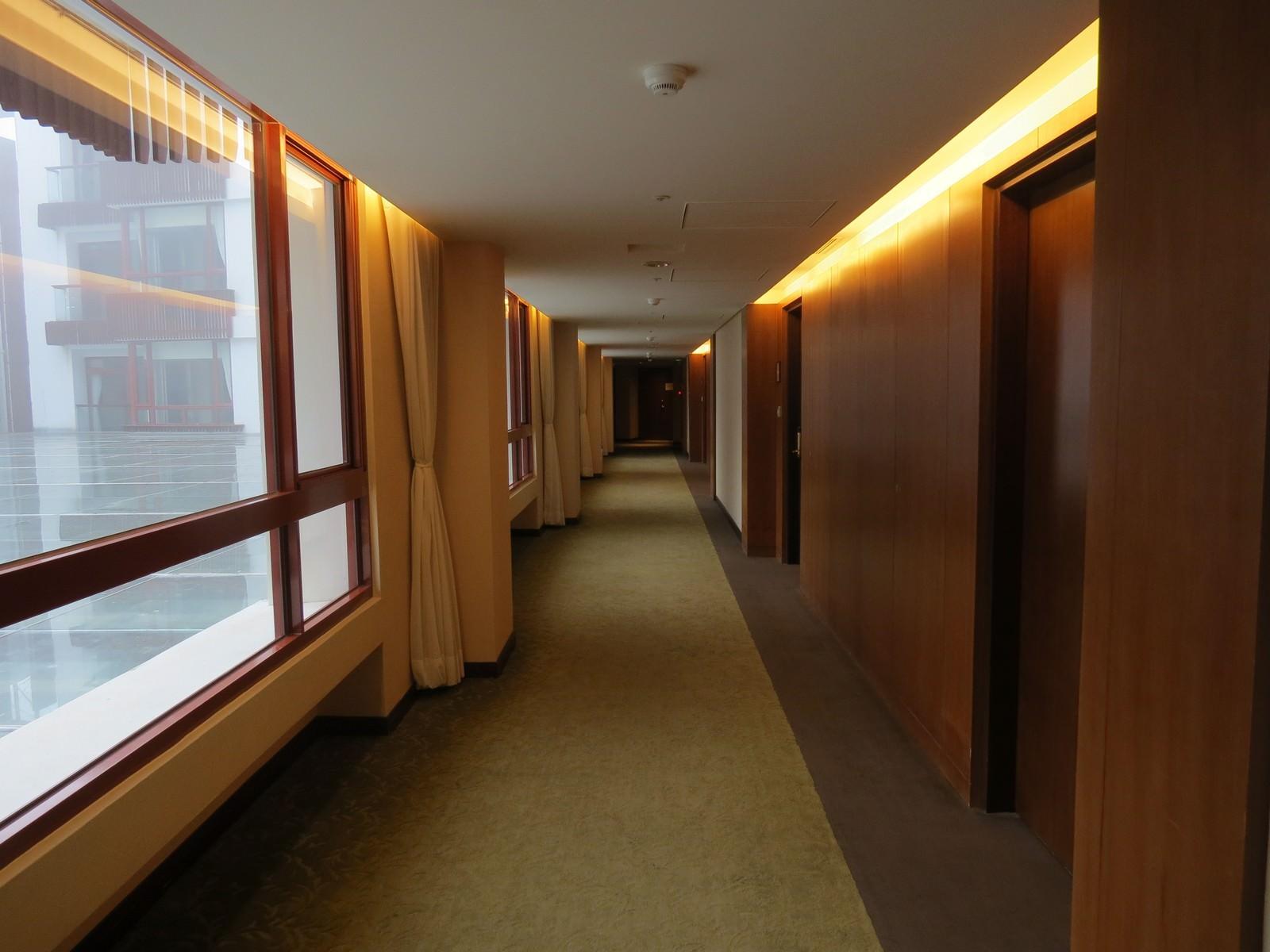 阿里山賓館, 客房走道