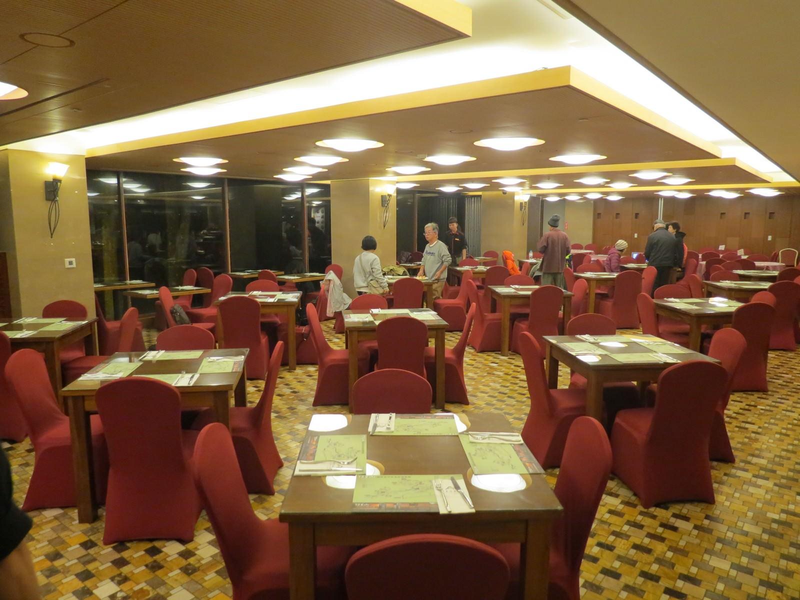 阿里山賓館, 餐廳介紹, 用餐環境
