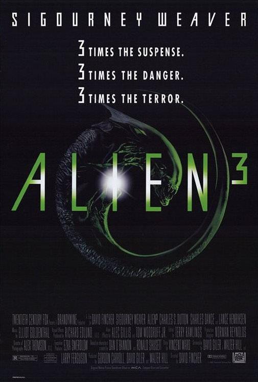Movie, Alien³(美國, 1992年) / 異形3(台灣), 電影海報, 美國