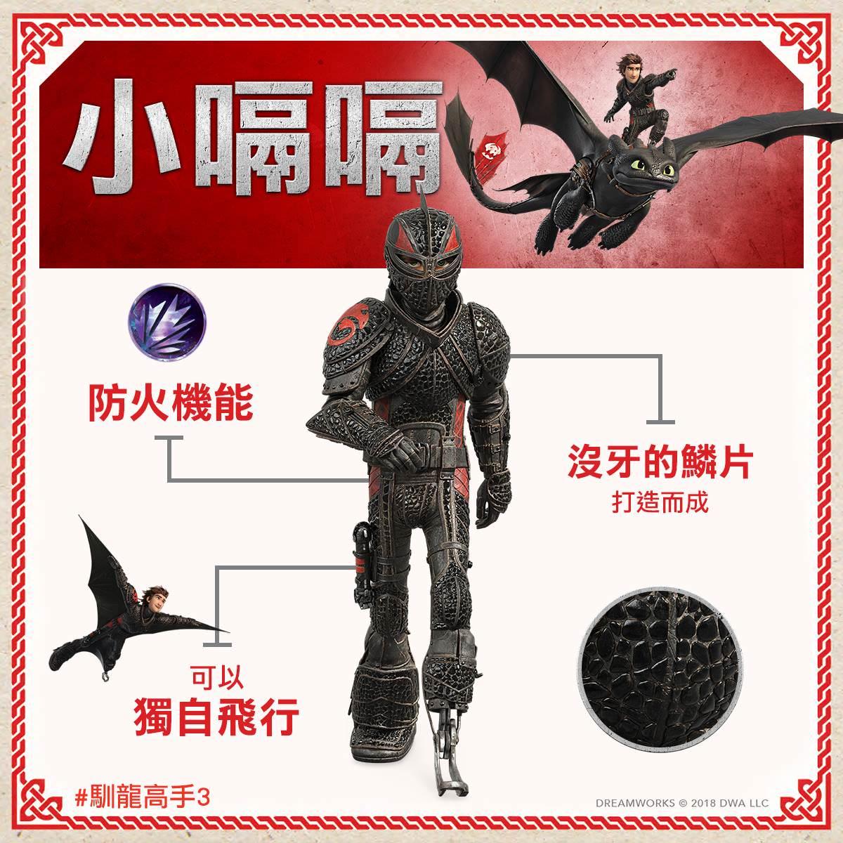 Movie, How to Train Your Dragon: The Hidden World(美國, 2019年) / 馴龍高手3(台灣) /馴龍記3(香港) / 驯龙高手3(中國), 網路宣傳, 角色介紹卡