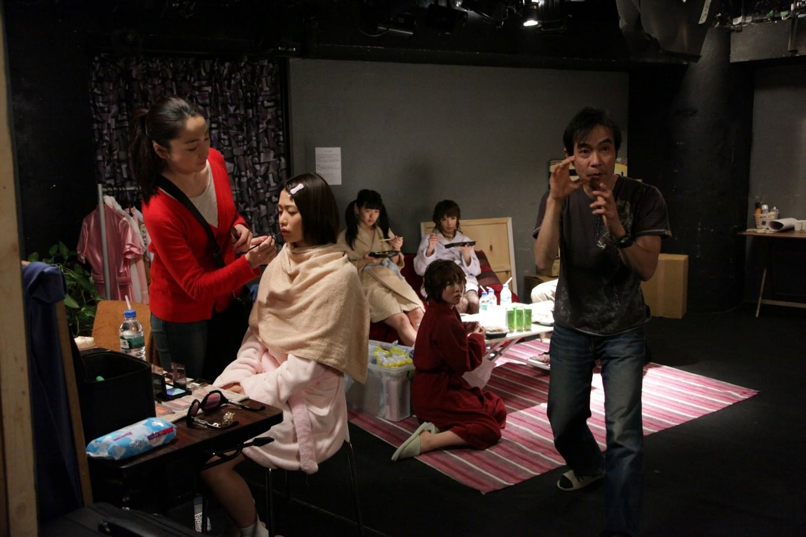 Movie, メイクルーム(日本, 2015年) / A片現場不NG(台灣) / Make Room(英文), 電影角色與演員介紹