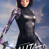 Movie, Alita: Battle Angel(美國, 2019年) / 艾莉塔:戰鬥天使(台灣) / 阿丽塔:战斗天使(中國) / 銃夢:戰鬥天使(香港), 電影海報, 美國, 角色