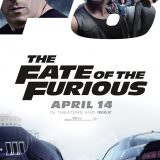 Movie, The Fate of the Furious(美國, 2017年) / 玩命關頭8(台灣) / 速度与激情8(中國) / 狂野時速8(香港), 電影海報, 美國