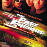 Movie, The Fast and the Furious(美國, 2001年) / 玩命關頭(台灣) / 狂野時速(香港) / 速度与激情(網路), 電影海報, 德國