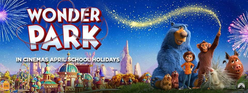 Movie, Wonder Park(美國, 2019年) / 奇幻遊樂園(台灣) / 神奇乐园历险记(中國) / 神奇夢樂園(香港), 電影海報, 澳大利亞, 橫版