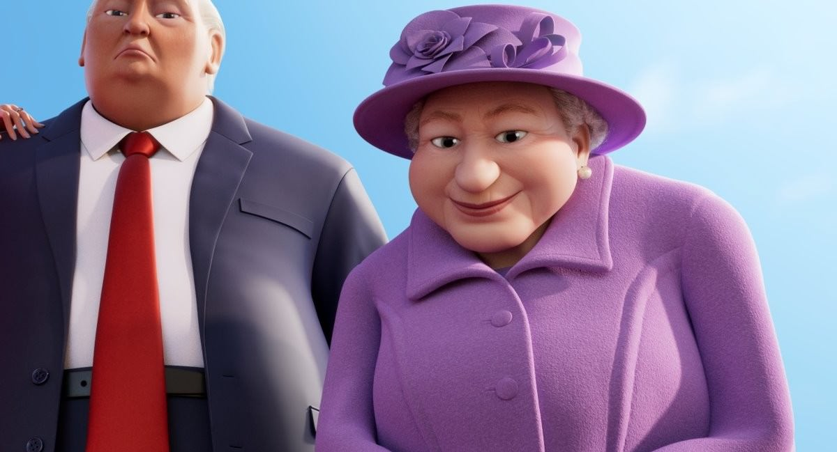 Movie, The Queen's Corgi(比利時, 2019年) / 女王的柯基(台灣) / 女皇哥基大冒險(香港), 電影角色與配音介紹