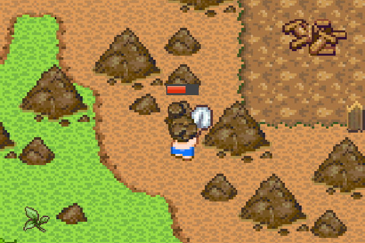 手機遊戲, 無人島大冒險2, 挖掘