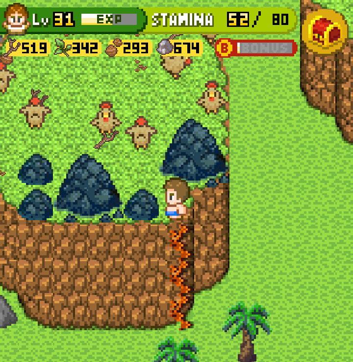 手機遊戲, 無人島大冒險2, 雞